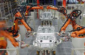 Robotic automation in automotive factory