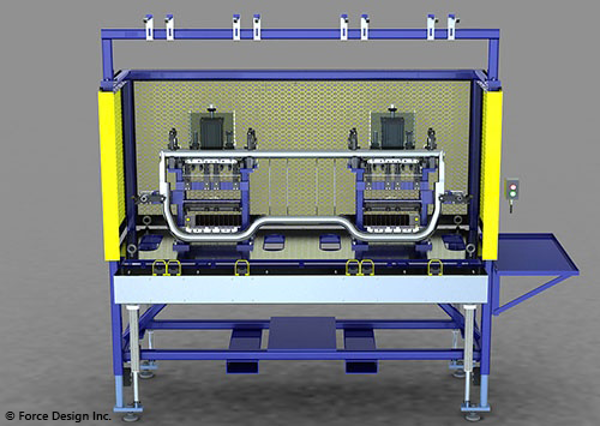 Flex Mat Assembly Machine 1