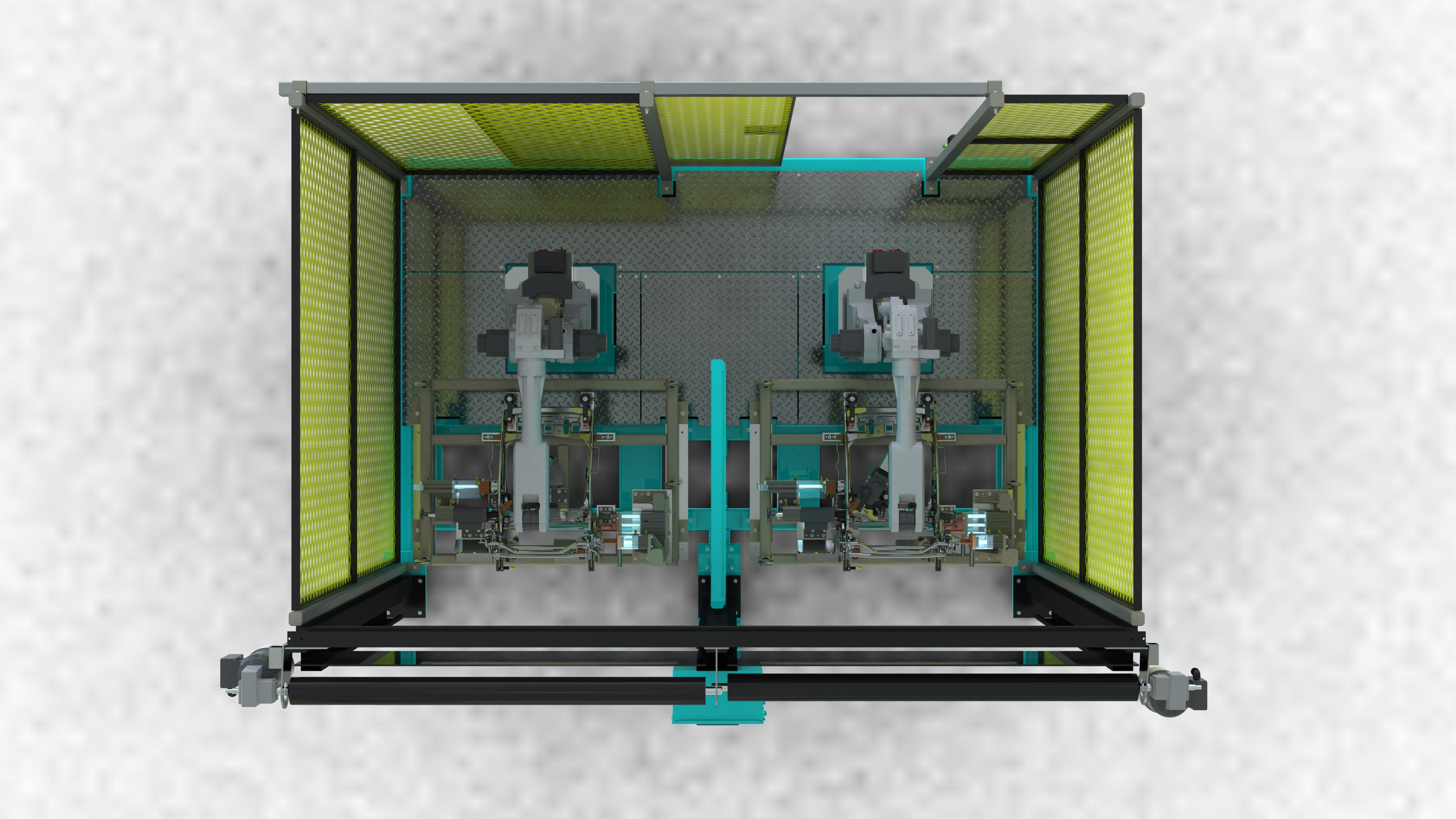 Robotic Weld Cell and Tooling (1)