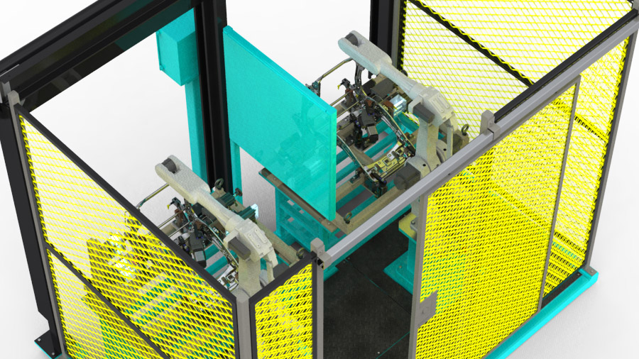 Robotic Weld Cell and Tooling (3)