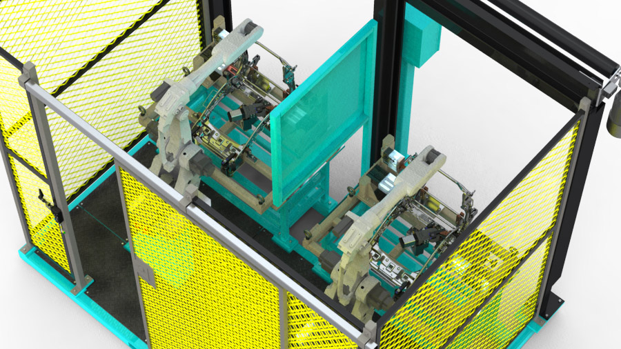 Robotic Weld Cell and Tooling (4)